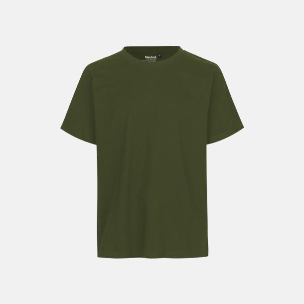 Military Ekologiska fairtrade t-shirts med tryck