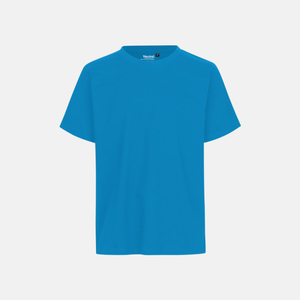 Sapphire Ekologiska fairtrade t-shirts med tryck