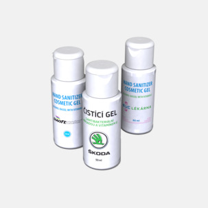 Desinfekterande Antibakteriell Gel - Med eget tryck