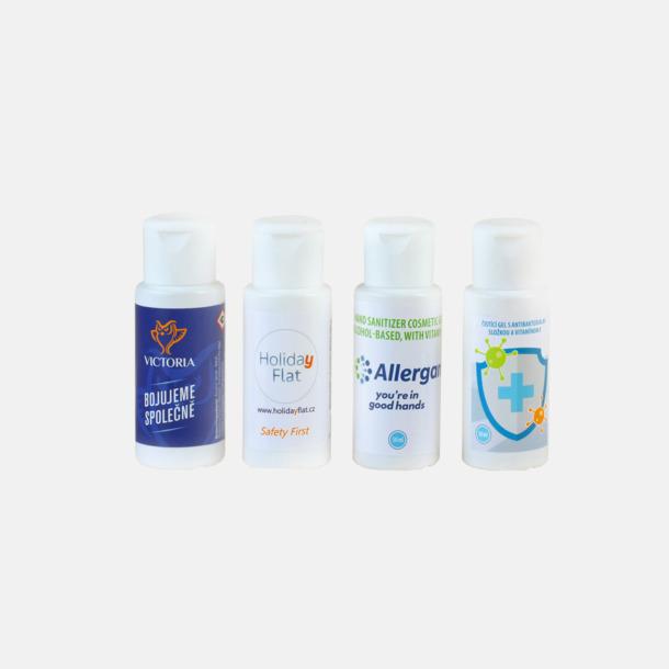 Tiny 50 ml Desinfekterande Antibakteriell Gel - Med eget tryck