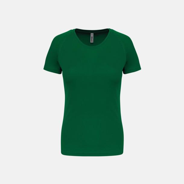 Kelly Green Sport t-shirts i många färger för damer - med reklamtryck