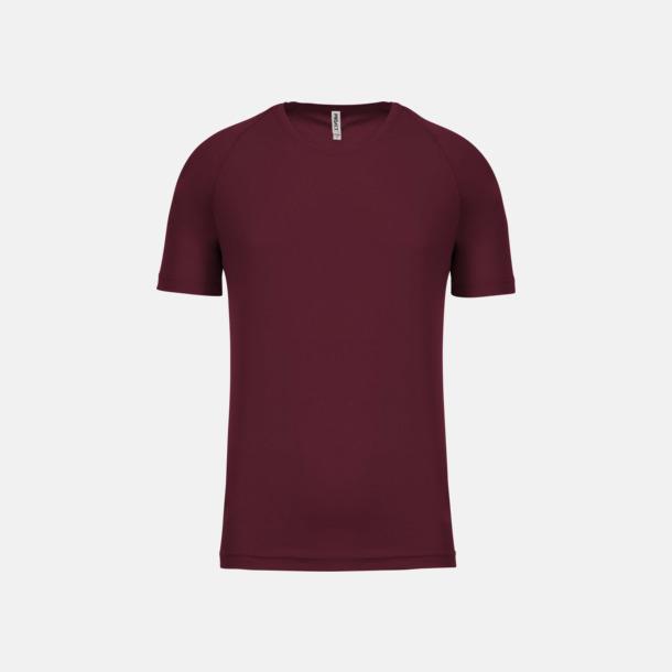 Wine Sport t-shirts i många färger för herrar - med reklamtryck