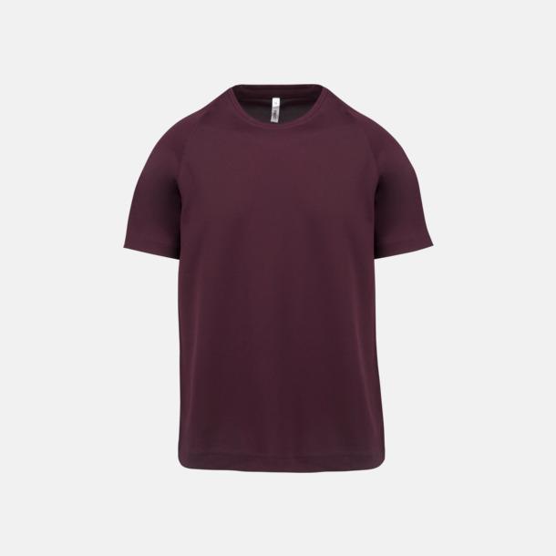 Wine Funktions t-shirts i många färger för barn - med reklamtryck