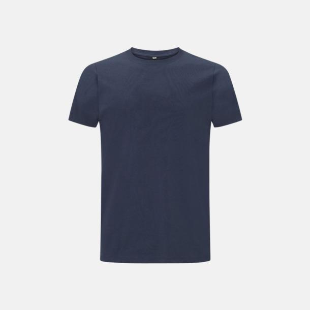 Denim Blue Unisex eko t-shirts med reklamtryck