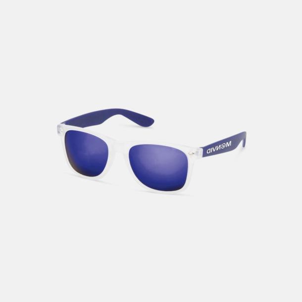 Med reklamtryck Solglasögon med färgade glas - med tryck