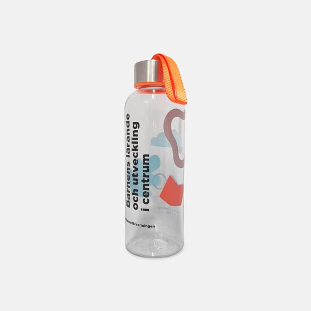 Tritanflaskor med färgaccent med reklamtryck