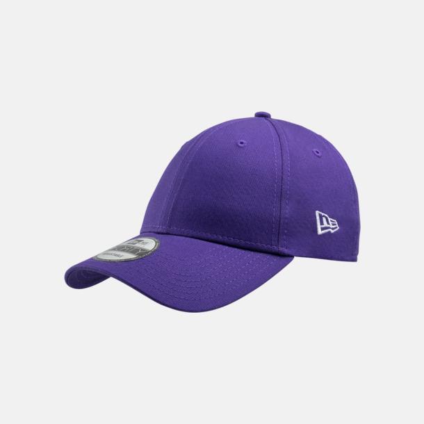 True Purple Exklusiva premium-kepsar från New Era med reklamlogo