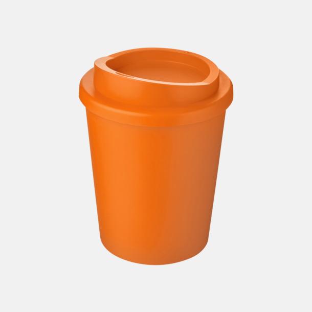 Orange Fina 25 cl take away-muggar med reklamtryck