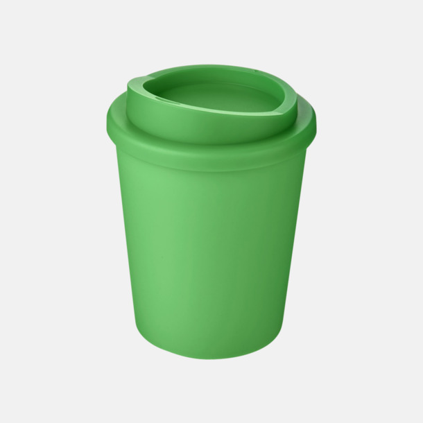 Grön Fina 25 cl take away-muggar med reklamtryck