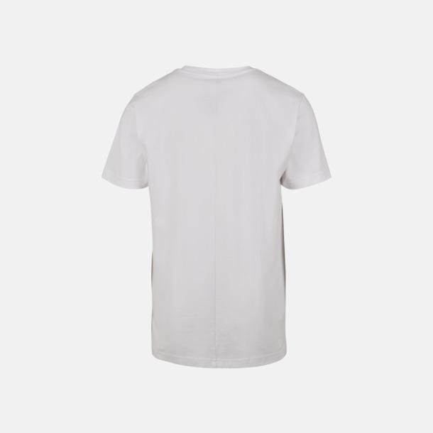Herr t-shirt med centrerad ryggsöm - med reklamtryck