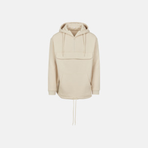 Dra-på hoodies med reklamtryck