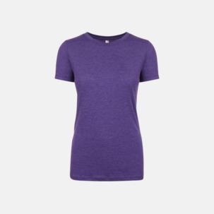 Tri-blend t-shirts med reklamtryck