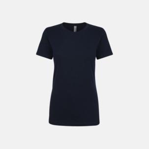 Dam t-shirts boyfriend t med reklamtryck