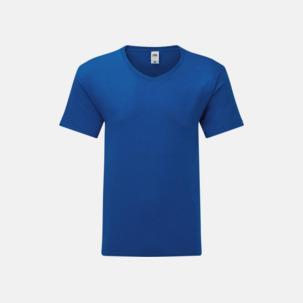 Fina v-neck t-shirts - med reklamtryck