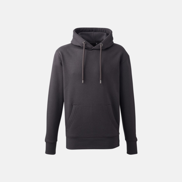 Charcoal Anthem Premium Hoodie - Med tryck