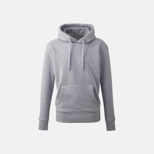 Grey marl Anthem Premium Hoodie - Med tryck