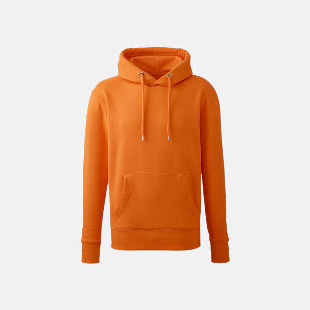 Orange Anthem Premium Hoodie - Med tryck