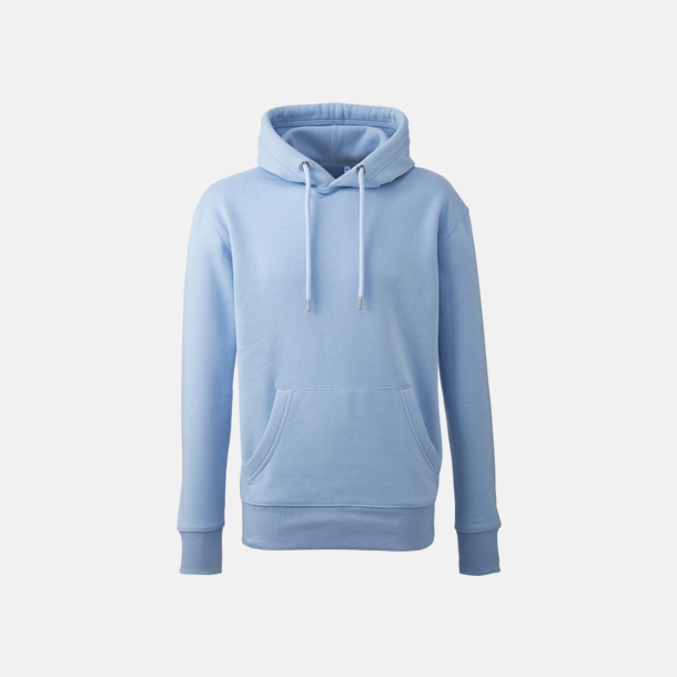 Ljusblå Anthem Premium Hoodie - Med tryck