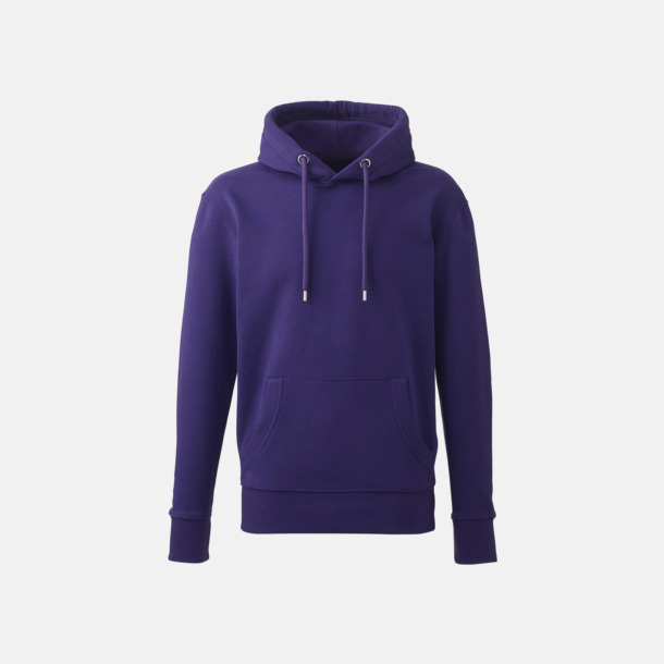 Lila Anthem Premium Hoodie - Med tryck