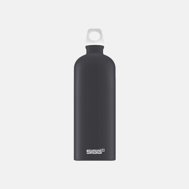 1L Grafitgrå - Matt Äkta SIGG-flaskor med eget tryck