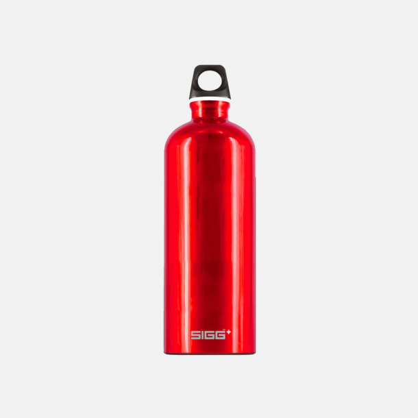 1L Röd - Blank Äkta SIGG-flaskor med eget tryck