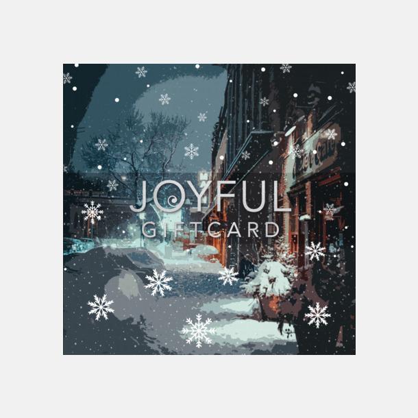 Joyful Giftcard Gåvokort med kända varumärken och chans till välgörenhet