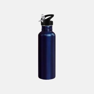 0,75 liters sportflaskor i rostfritt stål med reklamtryck
