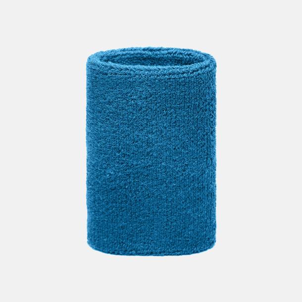 Aqua Extra brett armsvettband med brodyr