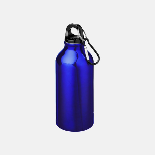 Blå Billig vattenflaska aluminium med egen logo